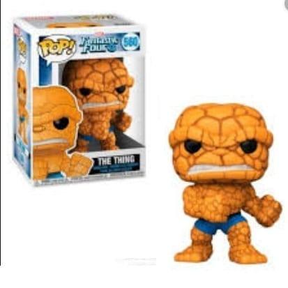 Figura La Mole Funko POP Los 4 Fantásticos Marvel