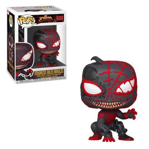 Figura Miles Morales Funko POP Spiderman Marvel Venomizada