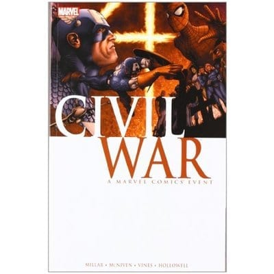 Cómic Civil War Marvel ENG