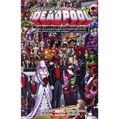 Cómic The Weeding of Deadpool Marvel Deadpool Marvel