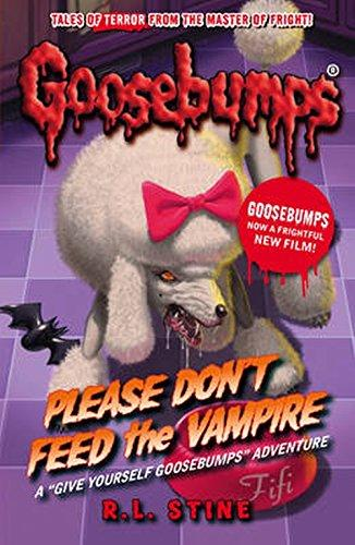 Libro Goosebumps Schoolastic Escalofrios Terror Please don´t Feed the Vampire ENG