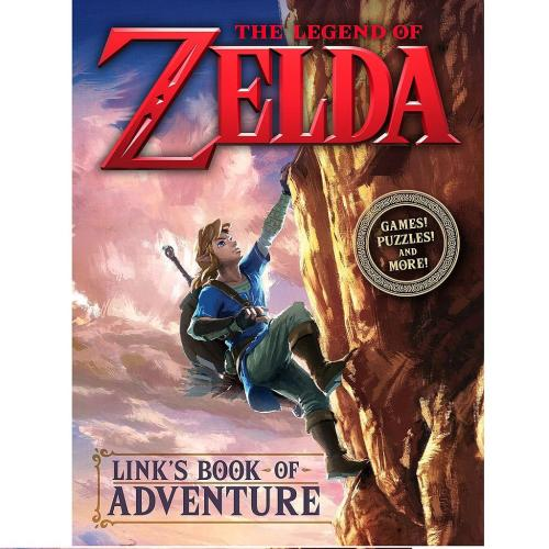 Libro Random House The Legend of Zelda Links Book of Adventure Pluzzes and Games Videojuegos ENG HC