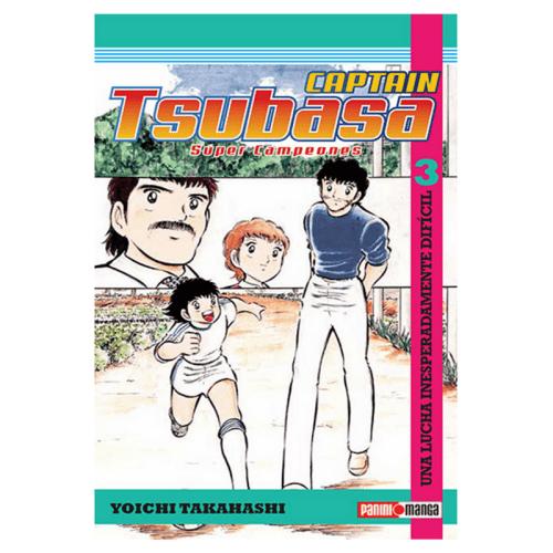 Manga Capitán Tsubasa Panini Capitán Tsubasa Anime Vol.3 una Lucha Inesperadamente Dificil ESP