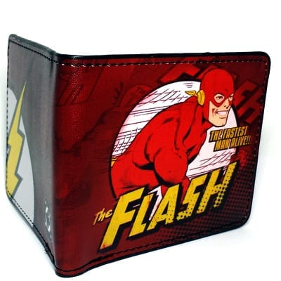 Billetera Flash PT Flash DC Comics The Fastest Man Alive