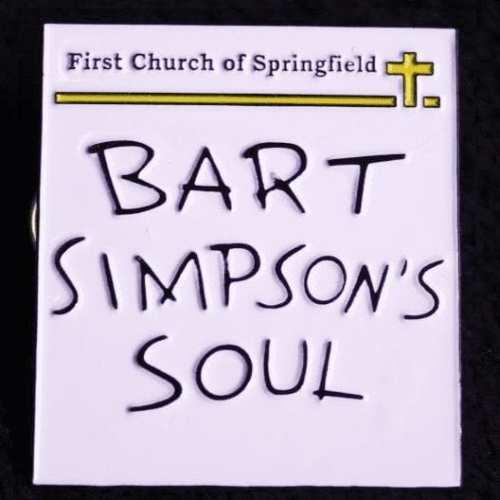 Dibujo Alma de Bart Poof B Los Simpsons Animados