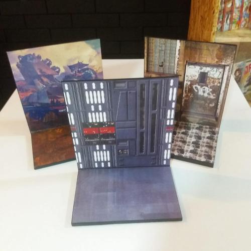 Diorama en Madera Diseños Varios Bring Me Action Geek Iconos