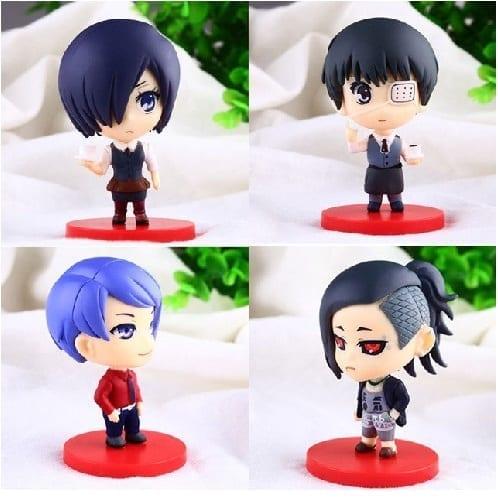 Figura Personajes Varios PT Tokyo Ghoul Anime (Copia)