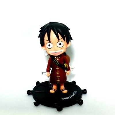 Figura Luffy PT One Piece Anime Base Negra (Copia)