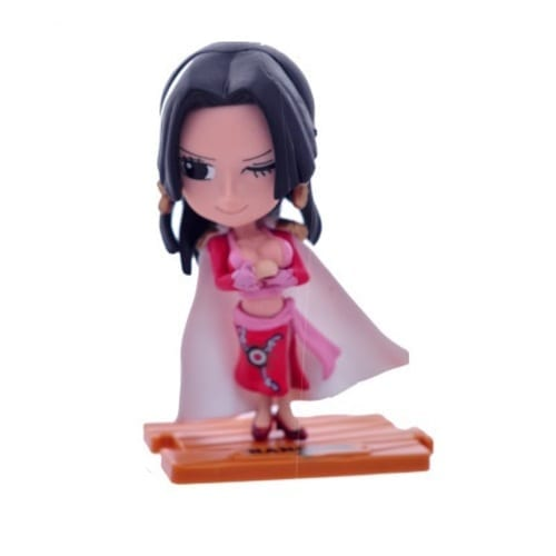 "Figura Boa Hancock PT One Piece Anime Base de Madera 4"" (copia)"