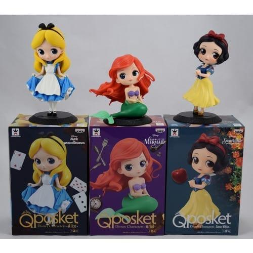 """Figura Princesas Q Posket Princesas Disney 6"""" en Caja (Copia)"""