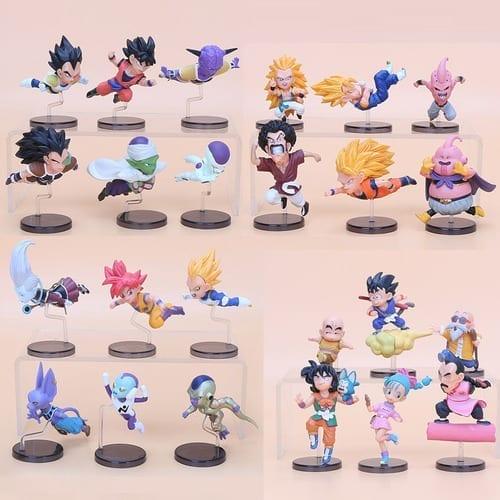 "Figura Personajes Varios Banpresto WCF Dragon Ball Anime The Historical Characters en Caja 3"" (Copia)"