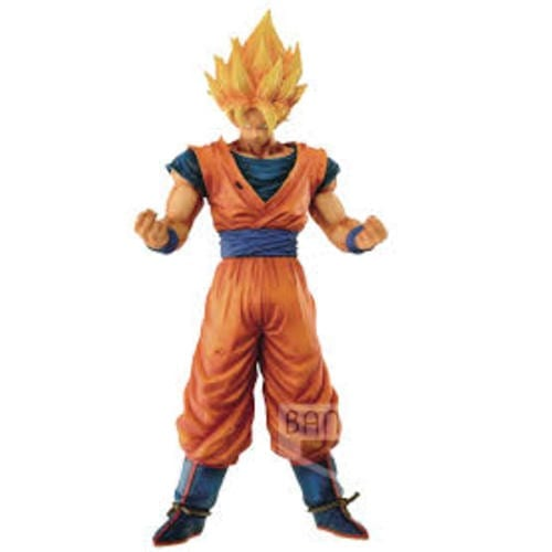 "Figura Goku SSJ Banpresto Grandista Dragon Ball Anime 12"" (Copia) Resolution of Soldiers"