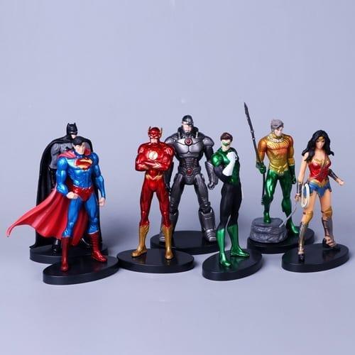 Figura Personajes Varios PT Liga de la Justicia DC Comics en Bolsa (Unidad) (Copia)