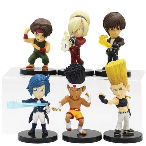 """Figura Personajes Varios SNK The King of Fighters Videojuegos en Caja 3"""" (Copia)"""