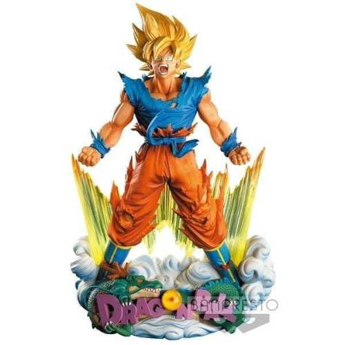 Diorama Goku SuperMaster Star Dragon Ball Anime en Caja 9""