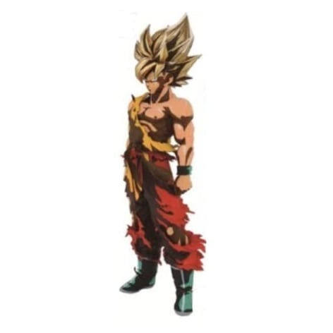 "Figura Goku Banpresto Dragon Ball Anime Super Master Star Piece Lunar New Year Color 10"" (copia)"