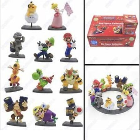 Figura Personajes Varios Furuta Mario Kart Videojuegos Nintendo (Unidad)