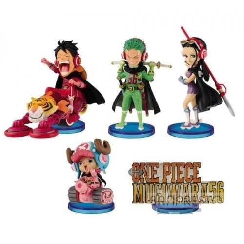 Figura Varios Personajes Banpresto WCF One Piece Anime Mugiwaras 56 Varios Personajes (unidad) (copia)