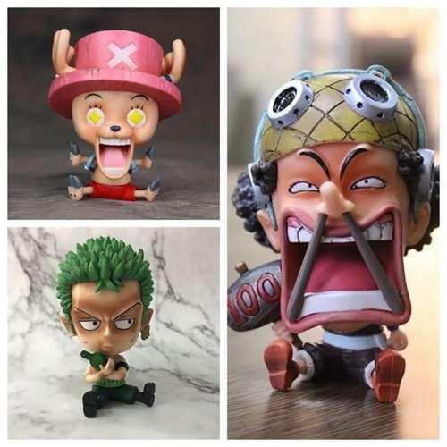 """Figura Varios PT One Piece Anime Personajes Versión Bebé 4"""" (Unidad) (copia)"""