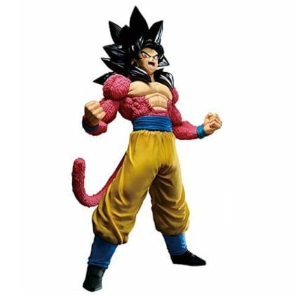 "Figura Goku Super Saiyan 4 Banpresto Dragon Ball Anime Blood of Saiyans 7"" (Copia)"