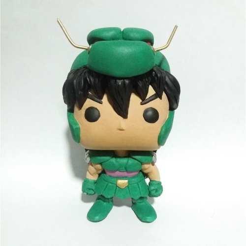 Figura Shiryu de Dragon TooGEEK Caballeros del Zodiaco Anime Funko Customizado