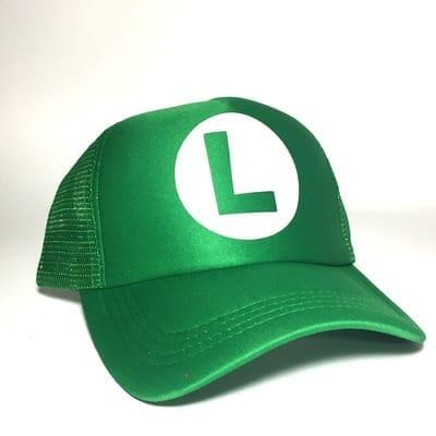 Gorra de Malla Luigi TooGEEK Mario Bros Videojuegos