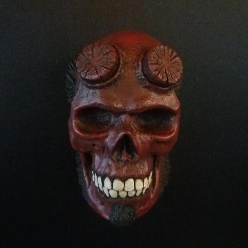 Imán Hellboy Rotten Kidney Skull Magnet Hellboy Ciencia Ficción