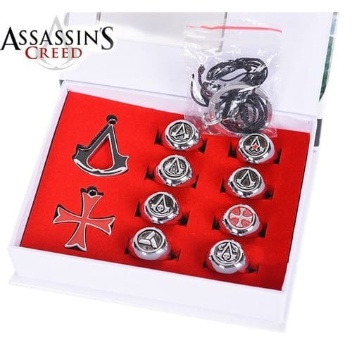 Anillo y Accesorio Assassins Creed PT Assassins Creed Videojuegos (Copia)