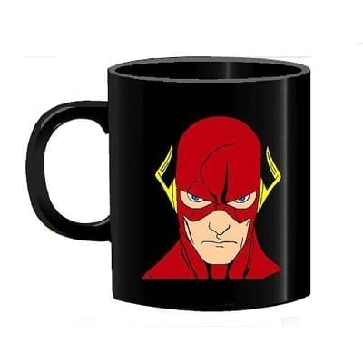 Mug Tallado The Flash Rostro TooGEEK Flash DC Comics