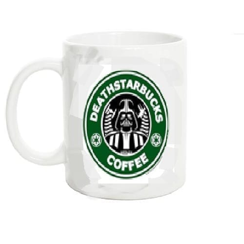 Mug Tallado Darth Vader TooGEEK Star Wars Deathstarbucks Coffee