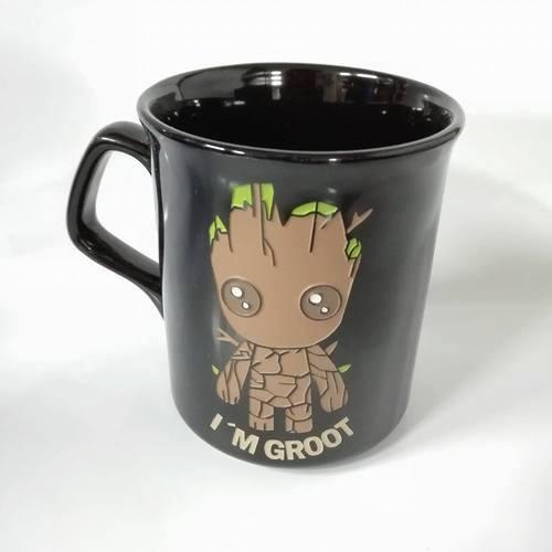 Mug Tallado Baby Groot TooGEEK Guardianes de la Galaxia Marvel