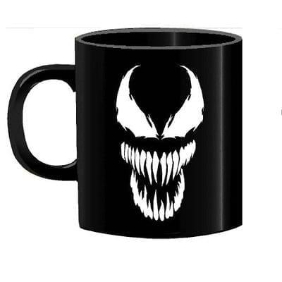 Mug Tallado Venom TooGEEK Marvel Fondo Negro