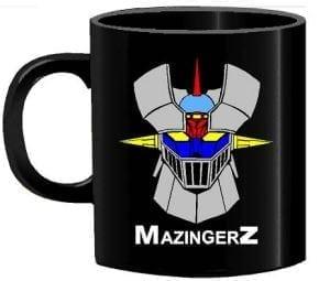 Mug Tallado Mazinger Z TooGEEK Mazinger Z Anime Letras Amarillas
