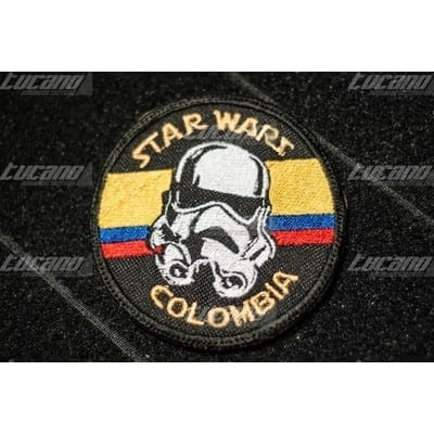 Parche Star Wars Colombia Tucano Star Wars