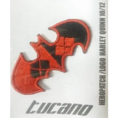 Parche Logo Batman Colores Harley Quinn Tucano Batman DC Comics