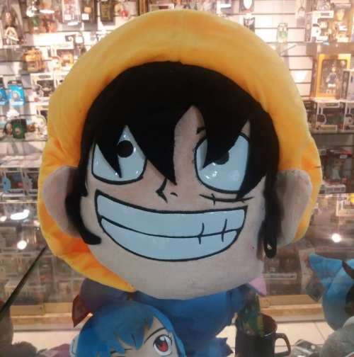 "Peluche Luffy PT One Piece Anime 10"""