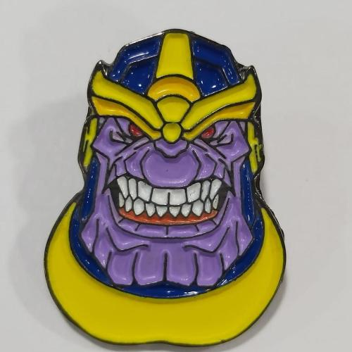 Pin Metálico Rostro Thanos TooGEEK Thanos Marvel (Color)