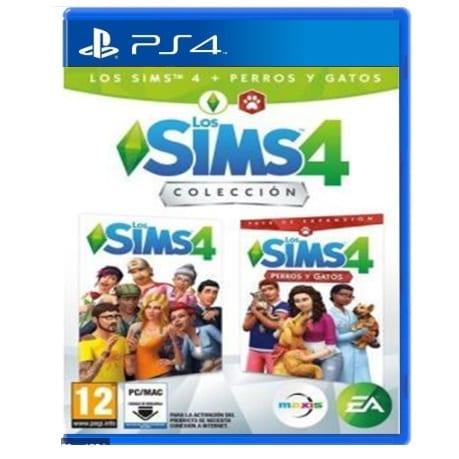 Videojuego Playstation 4 DPR EA Los Sims 4 Colección : Sims 4 + Perros y Gatos Videojuegos