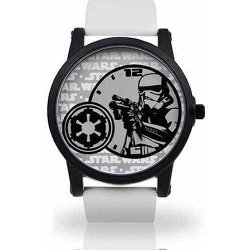 Reloj de Pulso Stormtrooper Accutime Star Wars Black and White