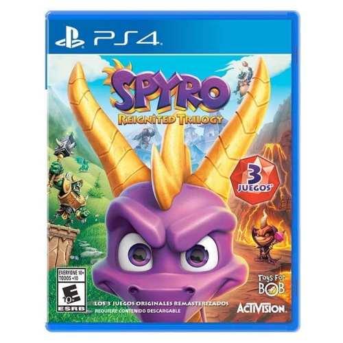 Videojuego Playstation 4 DPR Spyro Reignited Trilogy Incluye 3 Juegos Videojuegos