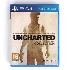 Videojuego Playstation 4 DPR Naughty Dog Uncharted The Nathan Drake Collection Videojuegos