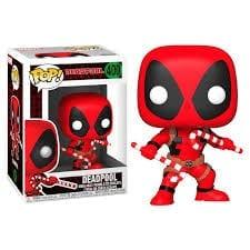 Figura Deadpool Funko POP Deadpool Marvel con Bastones de Dulce
