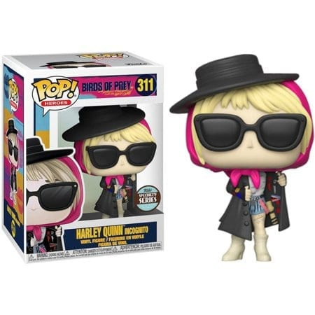 Figura Harley quinn Funko POP Birds of Prey DC Comics Harley Incognito Speciality Series