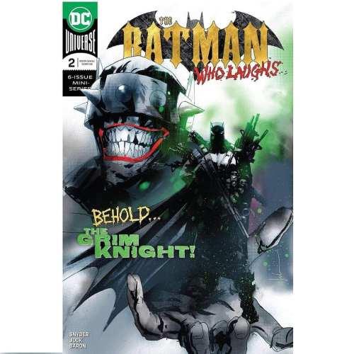 Revistilla Batman Who Laughs #2 DC Comics Dark Knight Metal DC Comics