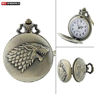 Reloj de Bolsillo Casa Stark PT Juego de Tronos Series