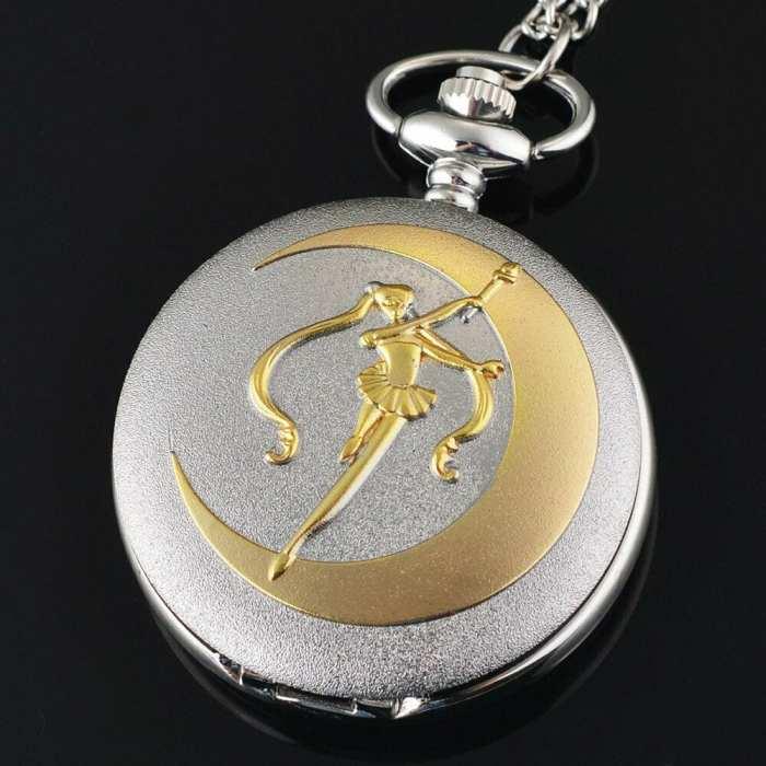 Reloj Sailor Moon EB Sailor Moon Anime de Bolsillo Silueta