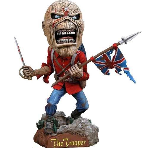 Figura Eddie Funko POP Iron Maiden Músicos Head Knockers Eddie The Head The Tropper