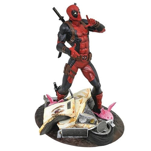 Estatuilla Deadpool Marvel Gallery Marvel Taco Truck