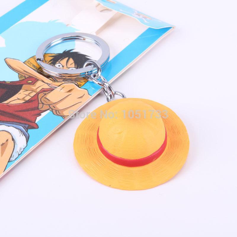 Llavero Sombrero de Paja PT One Piece Anime