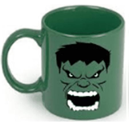 Mug Tallado Hulk TooGEEK Vengadores Marvel Fondo Verde